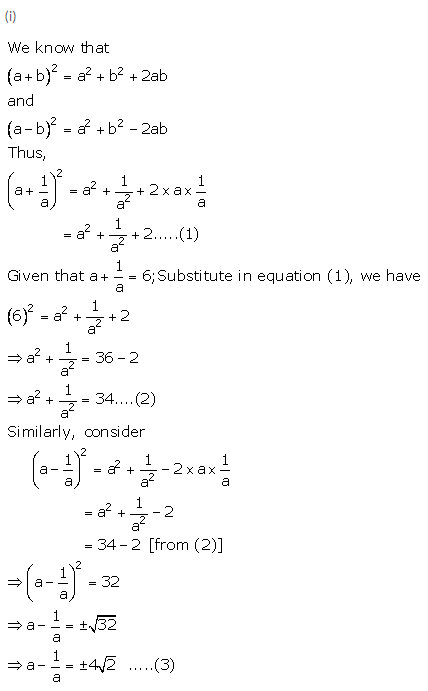 Selina Concise Mathematics Class 9 ICSE Solutions Expansions (Including Substitution) 14