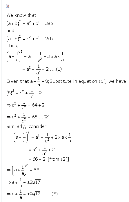 Selina Concise Mathematics Class 9 ICSE Solutions Expansions (Including Substitution) 16