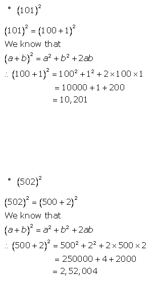 Selina Concise Mathematics Class 9 ICSE Solutions Expansions (Including Substitution) 2