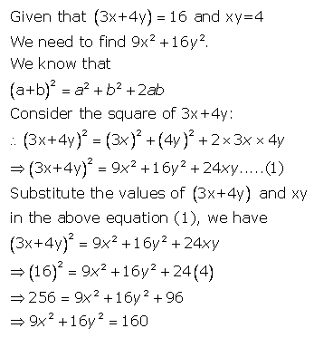 Selina Concise Mathematics Class 9 ICSE Solutions Expansions (Including Substitution) 22
