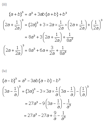 Selina Concise Mathematics Class 9 ICSE Solutions Expansions (Including Substitution) 26