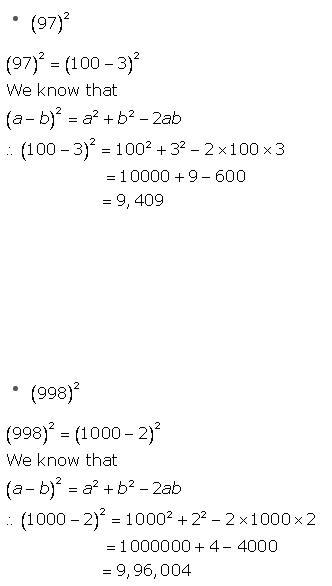 Selina Concise Mathematics Class 9 ICSE Solutions Expansions (Including Substitution) 3