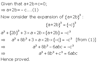 Selina Concise Mathematics Class 9 ICSE Solutions Expansions (Including Substitution) 34