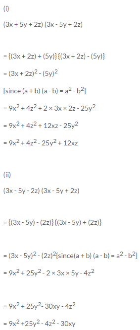 Selina Concise Mathematics Class 9 ICSE Solutions Expansions (Including Substitution) 40