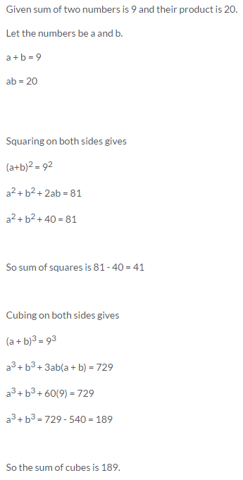 Selina Concise Mathematics Class 9 ICSE Solutions Expansions (Including Substitution) 41