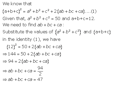 Selina Concise Mathematics Class 9 ICSE Solutions Expansions (Including Substitution) 46