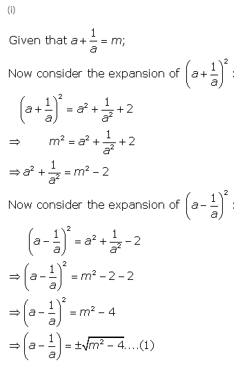 Selina Concise Mathematics Class 9 ICSE Solutions Expansions (Including Substitution) 51