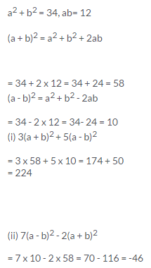 Selina Concise Mathematics Class 9 ICSE Solutions Expansions (Including Substitution) 60