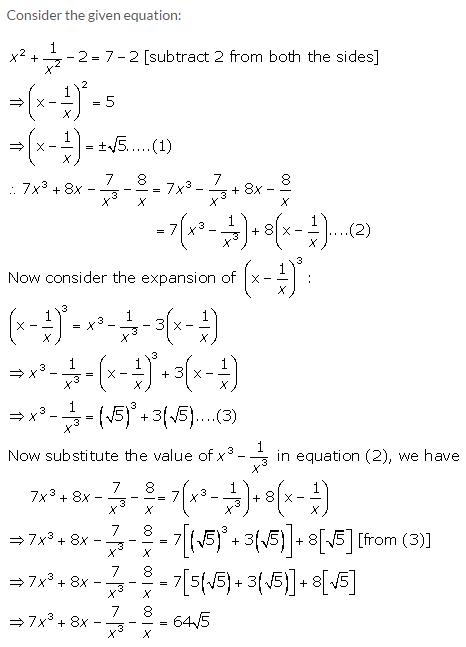 Selina Concise Mathematics Class 9 ICSE Solutions Expansions (Including Substitution) 64