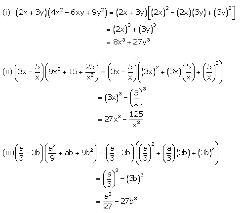 Selina Concise Mathematics Class 9 ICSE Solutions Expansions (Including Substitution) 74