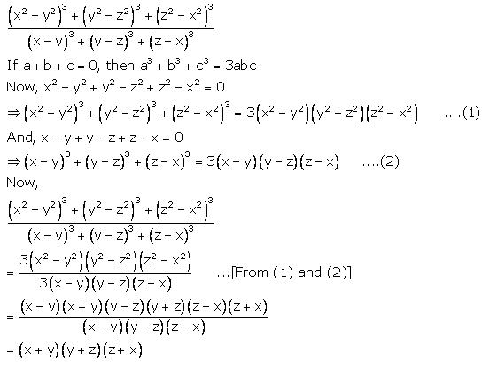 Selina Concise Mathematics Class 9 ICSE Solutions Expansions (Including Substitution) 76