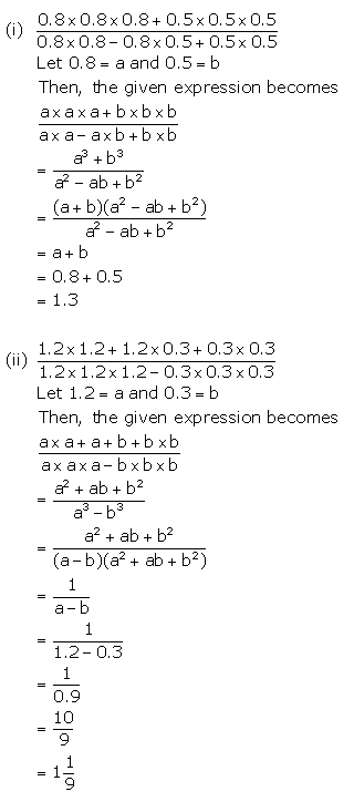 Selina Concise Mathematics Class 9 ICSE Solutions Expansions (Including Substitution) 77