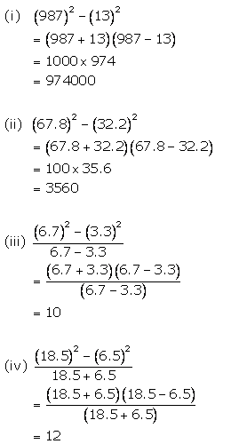 Selina Concise Mathematics Class 9 ICSE Solutions Factorisation 103