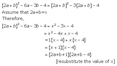 Selina Concise Mathematics Class 9 ICSE Solutions Factorisation 30