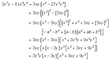 Selina Concise Mathematics Class 9 ICSE Solutions Factorisation 71