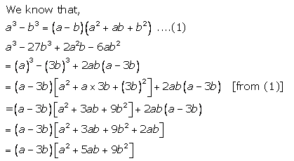 Selina Concise Mathematics Class 9 ICSE Solutions Factorisation 79