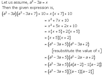 Selina Concise Mathematics Class 9 ICSE Solutions Factorisation 92