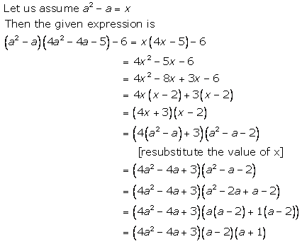 Selina Concise Mathematics Class 9 ICSE Solutions Factorisation 93