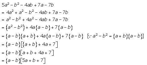 Selina Concise Mathematics Class 9 ICSE Solutions Factorisation 95