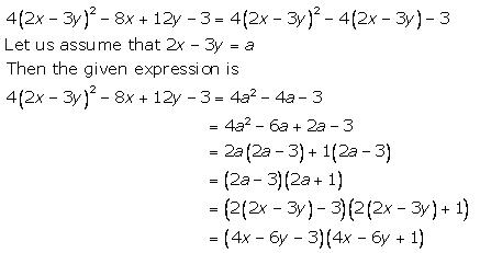 Selina Concise Mathematics Class 9 ICSE Solutions Factorisation 97