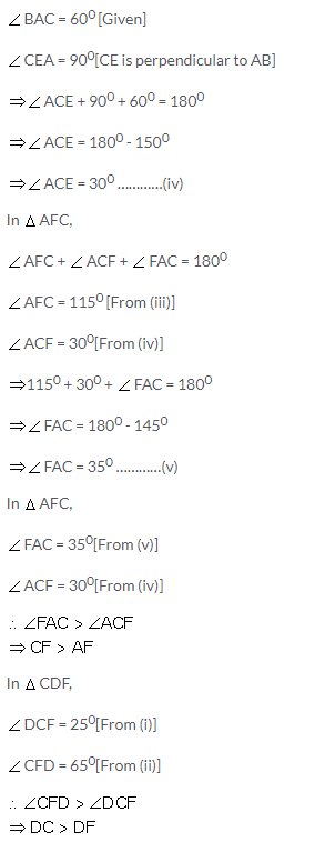 Selina Concise Mathematics Class 9 ICSE Solutions Inequalities 11