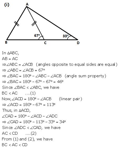 Selina Concise Mathematics Class 9 ICSE Solutions Inequalities 5
