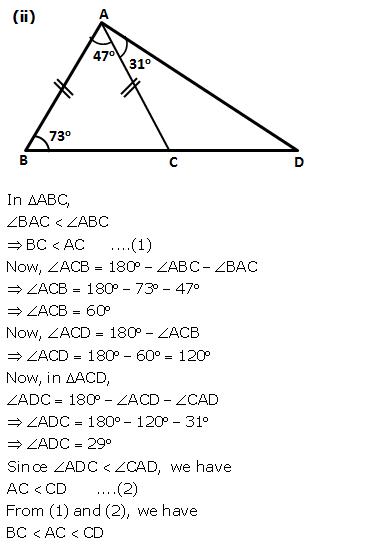Selina Concise Mathematics Class 9 ICSE Solutions Inequalities 6