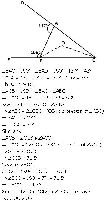 Selina Concise Mathematics Class 9 ICSE Solutions Inequalities 7