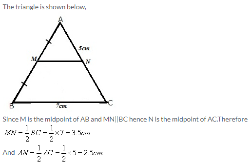 Selina Concise Mathematics Class 9 ICSE Solutions Mid-point and Its Converse [ Including Intercept Theorem] 1