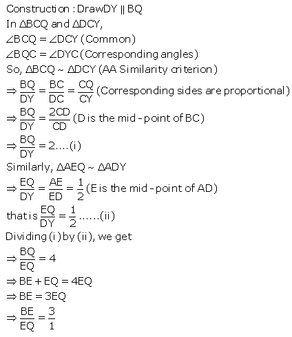 Selina Concise Mathematics Class 9 ICSE Solutions Mid-point and Its Converse [ Including Intercept Theorem] 16