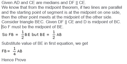Selina Concise Mathematics Class 9 ICSE Solutions Mid-point and Its Converse [ Including Intercept Theorem] 29