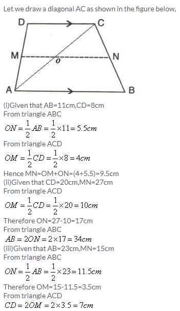 Selina Concise Mathematics Class 9 ICSE Solutions Mid-point and Its Converse [ Including Intercept Theorem] 5