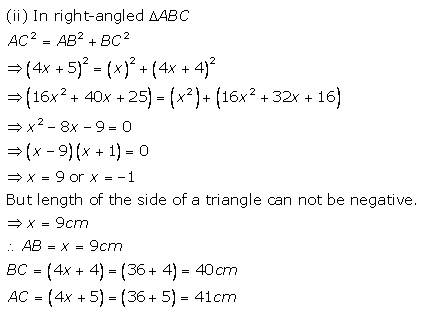 Selina Concise Mathematics Class 9 ICSE Solutions Pythagoras Theorem [Proof and Simple Applications with Converse image - 14