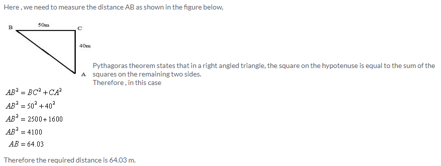 Selina Concise Mathematics Class 9 ICSE Solutions Pythagoras Theorem [Proof and Simple Applications with Converse image - 2