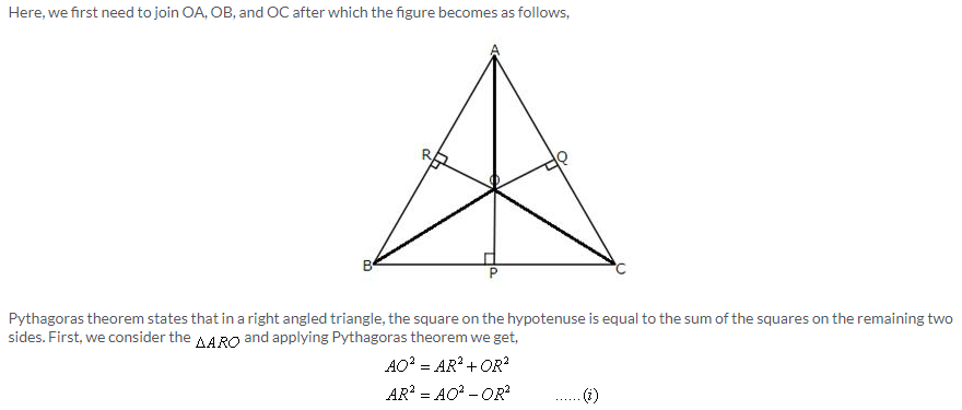 Selina Concise Mathematics Class 9 ICSE Solutions Pythagoras Theorem [Proof and Simple Applications with Converse image - 26