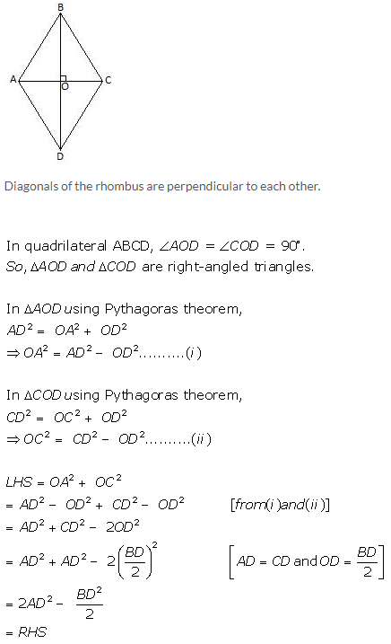Selina Concise Mathematics Class 9 ICSE Solutions Pythagoras Theorem [Proof and Simple Applications with Converse image - 28