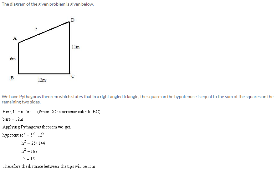 Selina Concise Mathematics Class 9 ICSE Solutions Pythagoras Theorem [Proof and Simple Applications with Converse image - 9