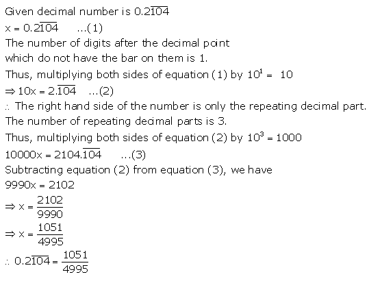 Selina Concise Mathematics Class 9 ICSE Solutions Rational and Irrational Numbers 15