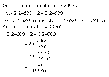 Selina Concise Mathematics Class 9 ICSE Solutions Rational and Irrational Numbers 17