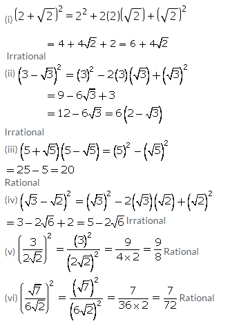 Selina Concise Mathematics Class 9 ICSE Solutions Rational and Irrational Numbers 30