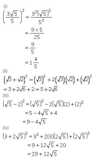 Selina Concise Mathematics Class 9 ICSE Solutions Rational and Irrational Numbers 31