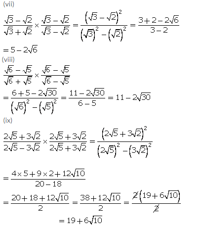Selina Concise Mathematics Class 9 ICSE Solutions Rational and Irrational Numbers 54
