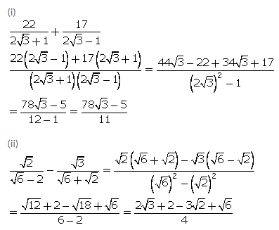 Selina Concise Mathematics Class 9 ICSE Solutions Rational and Irrational Numbers 57