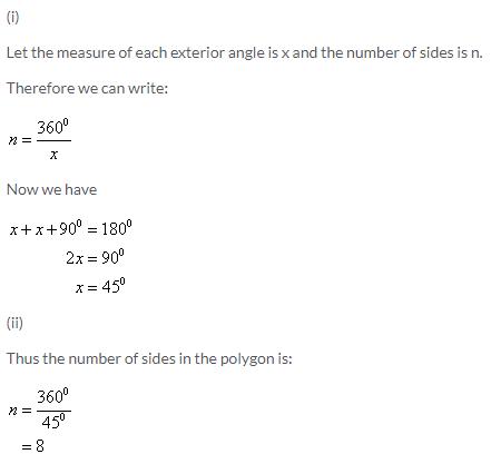 Selina Concise Mathematics Class 9 ICSE Solutions Rectilinear Figures [Quadrilaterals Parallelogram, Rectangle, Rhombus, Square and Trapezium] image - 11