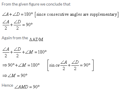 Selina Concise Mathematics Class 9 ICSE Solutions Rectilinear Figures [Quadrilaterals Parallelogram, Rectangle, Rhombus, Square and Trapezium] image - 16