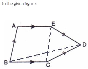 Selina Concise Mathematics Class 9 ICSE Solutions Rectilinear Figures [Quadrilaterals Parallelogram, Rectangle, Rhombus, Square and Trapezium] image - 17