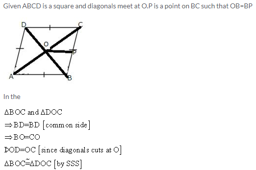 Selina Concise Mathematics Class 9 ICSE Solutions Rectilinear Figures [Quadrilaterals Parallelogram, Rectangle, Rhombus, Square and Trapezium] image - 19