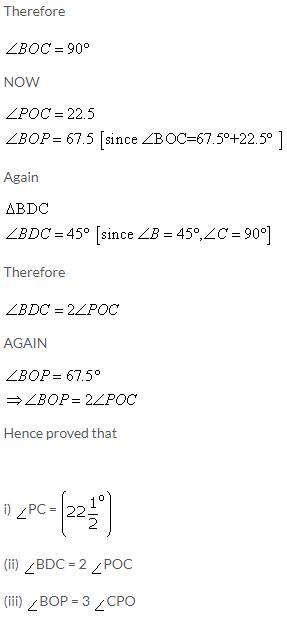 Selina Concise Mathematics Class 9 ICSE Solutions Rectilinear Figures [Quadrilaterals Parallelogram, Rectangle, Rhombus, Square and Trapezium] image - 20