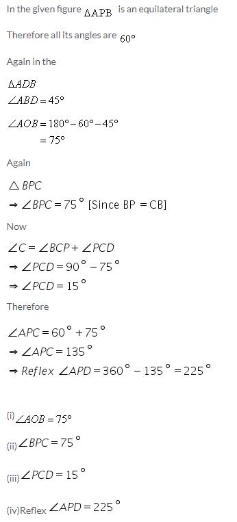 Selina Concise Mathematics Class 9 ICSE Solutions Rectilinear Figures [Quadrilaterals Parallelogram, Rectangle, Rhombus, Square and Trapezium] image - 22