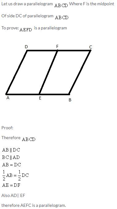 Selina Concise Mathematics Class 9 ICSE Solutions Rectilinear Figures [Quadrilaterals Parallelogram, Rectangle, Rhombus, Square and Trapezium] image - 28
